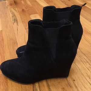 H&m ankle wedge bootie